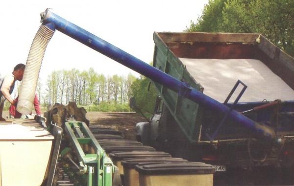Загрузчики зерна и удобрений ЗС-30М