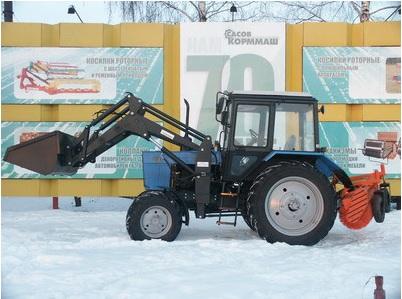 Фронтальный погрузчик МКДУ-82М