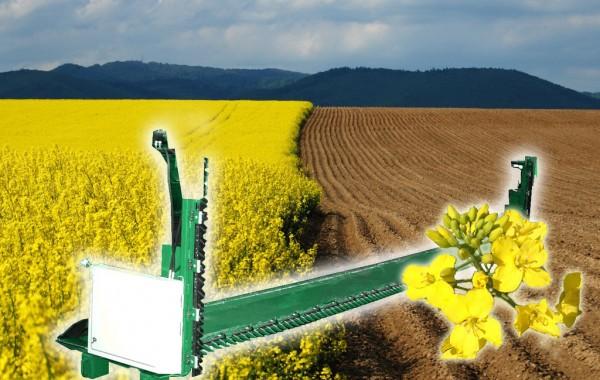 Приспособление для уборки семян рапса (рапсовый стол) ПЗР-6
