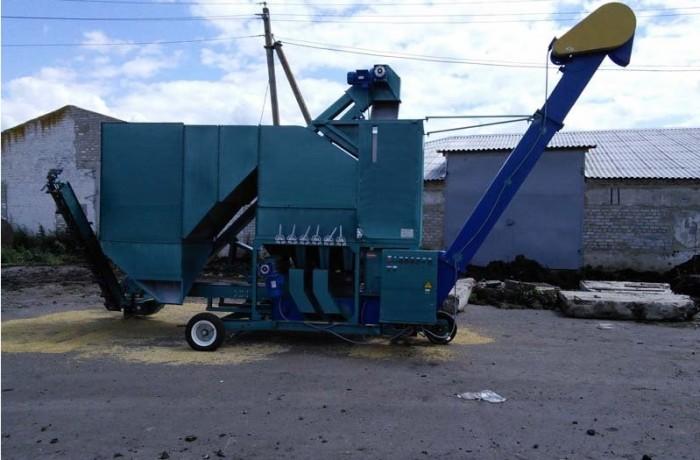 Самоходная зерноочистительная машина «КЛАСС» -20 МС 10П