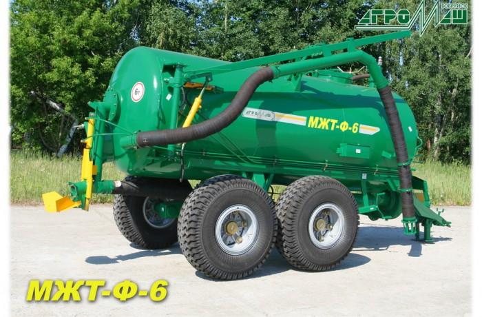 Машина для внесения жидких органических удобрений (бочка для транспортировки навоза) МЖТ-Ф-6