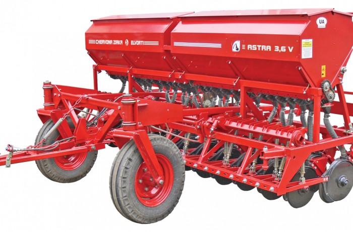 Сеялка зерновая СЗП-3,6В (вариаторная)