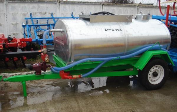 Полуприцеп для перевозки воды  ППВ-2500
