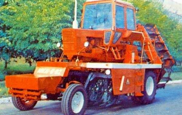 Корнеуборочная машина монтируемая МКК-6-02